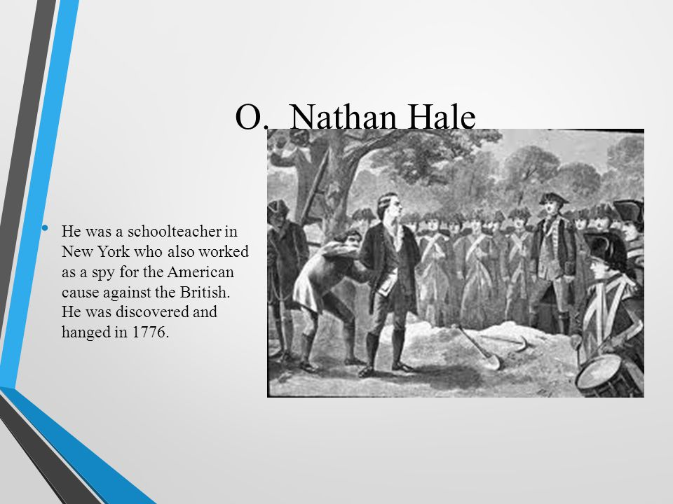 O. Nathan Hale