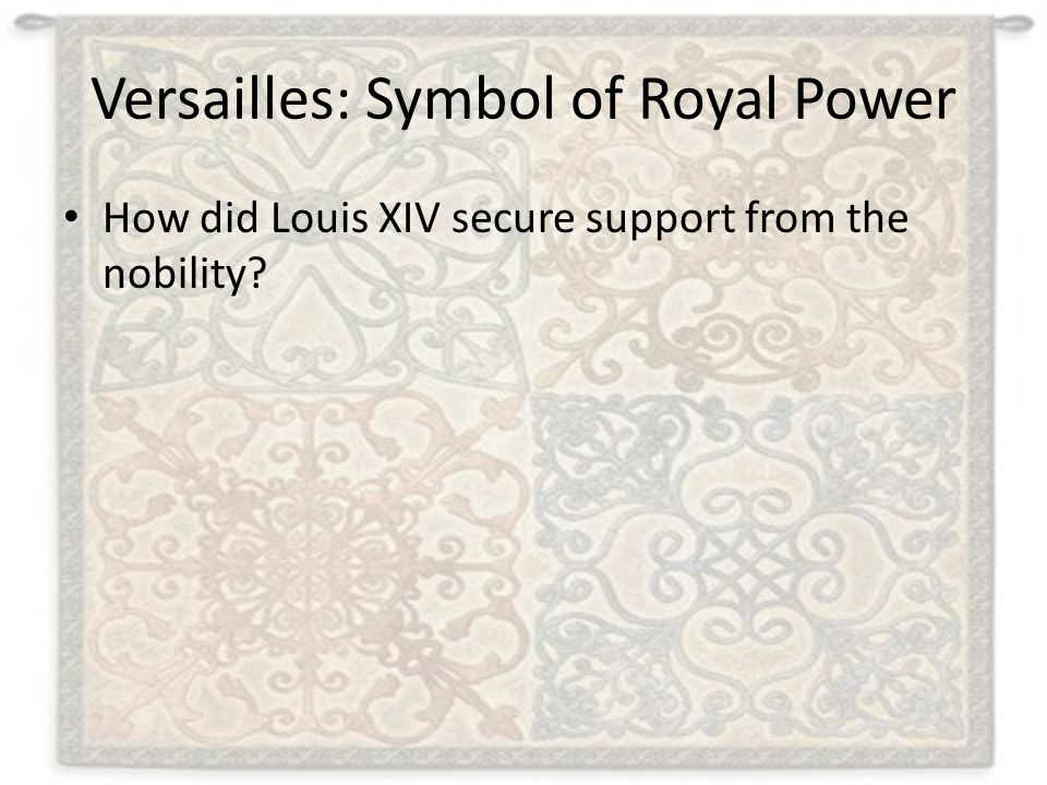 Versailles: Symbol of Royal Power