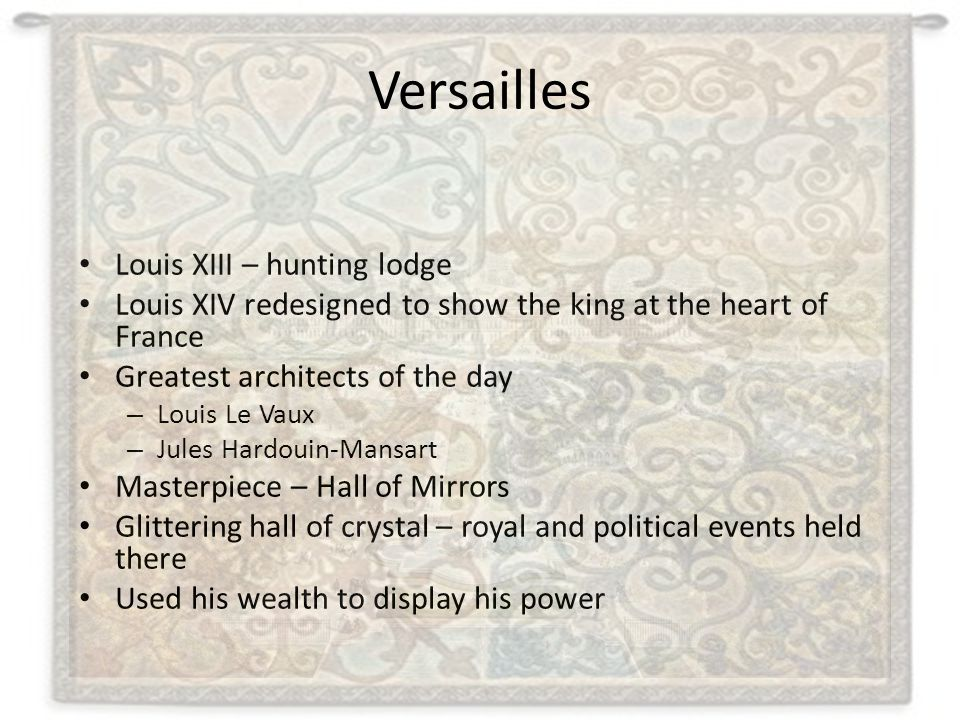 Versailles Louis XIII – hunting lodge