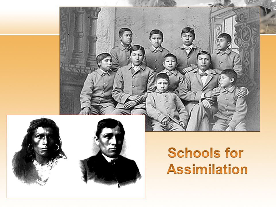 Schools for Assimilation