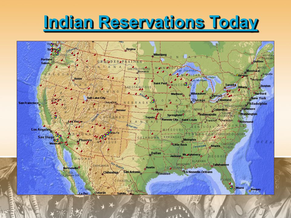 Indian Reservations Today