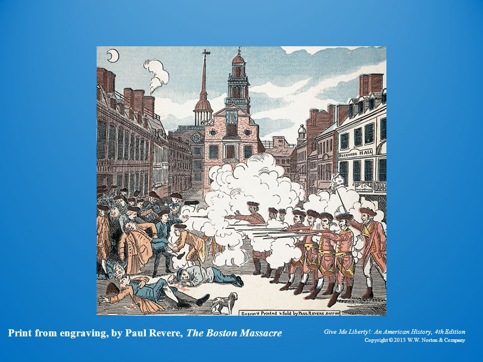 Paul revere's the boston massacre