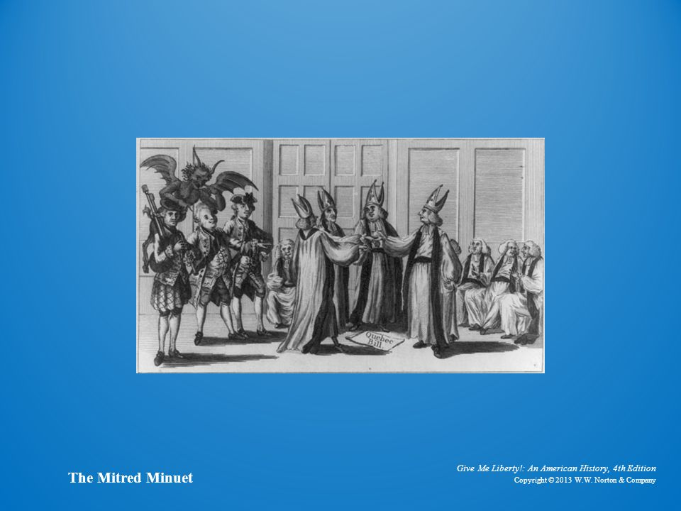 Cartoon the mitred minuet