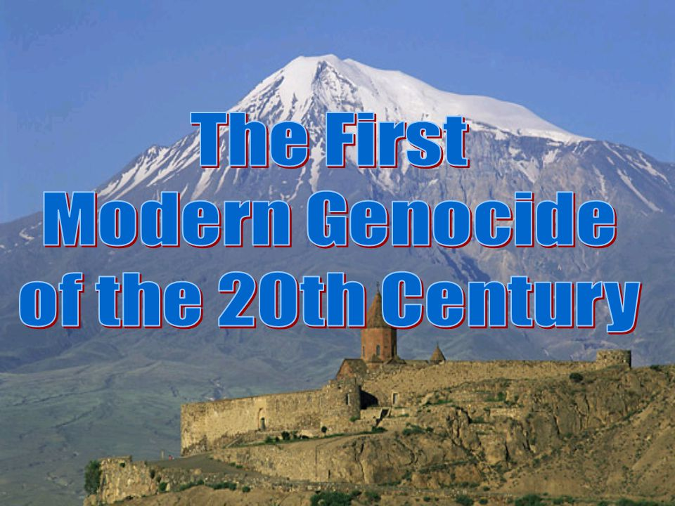 The First Modern Genocide of the 20th Century