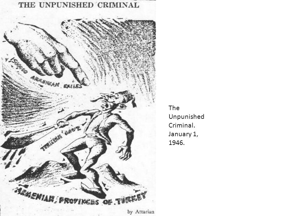 The Unpunished Criminal. January 1, 1946.
