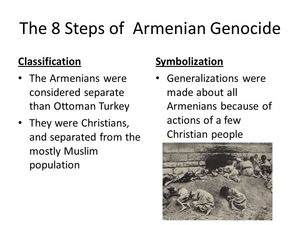 The 8 Steps of Armenian Genocide
