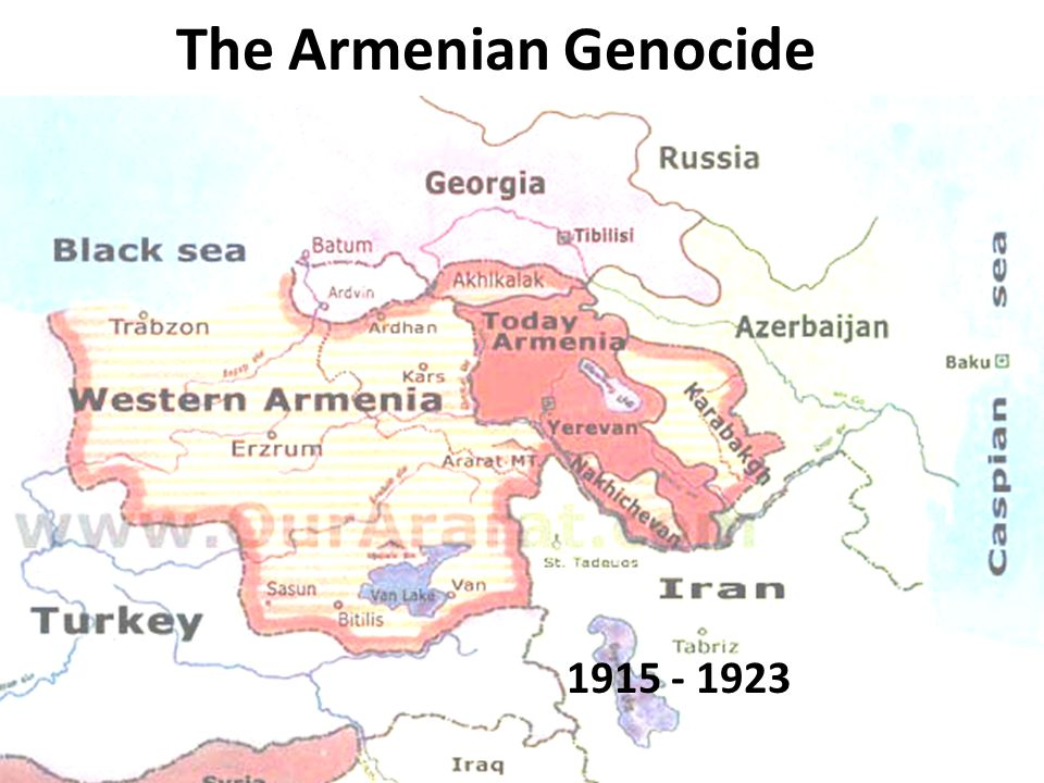The Armenian Genocide 1915 - 1923