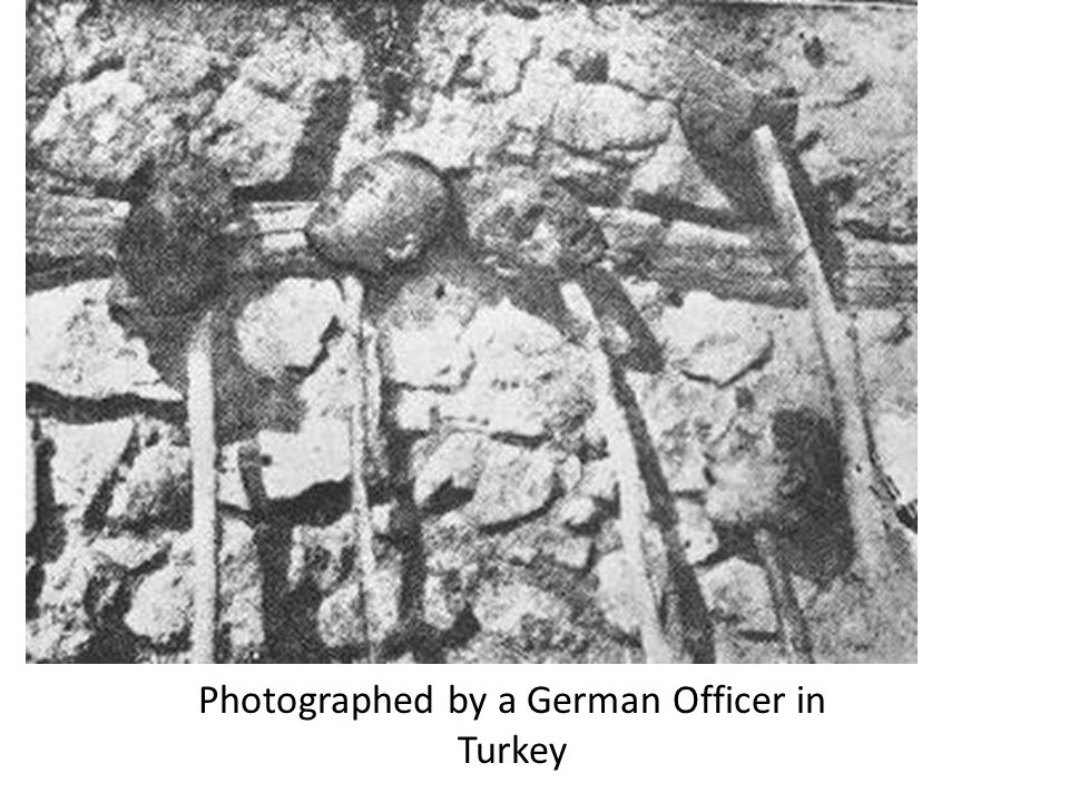 Photographed by a German Officer in Turkey