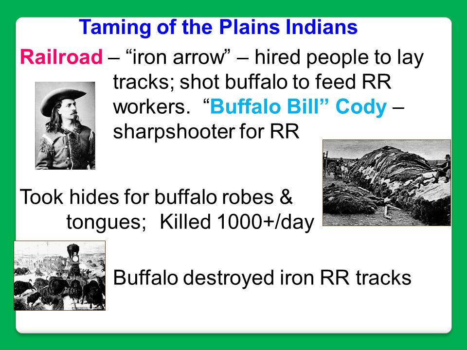 Railroad – iron arrow – hired people to lay