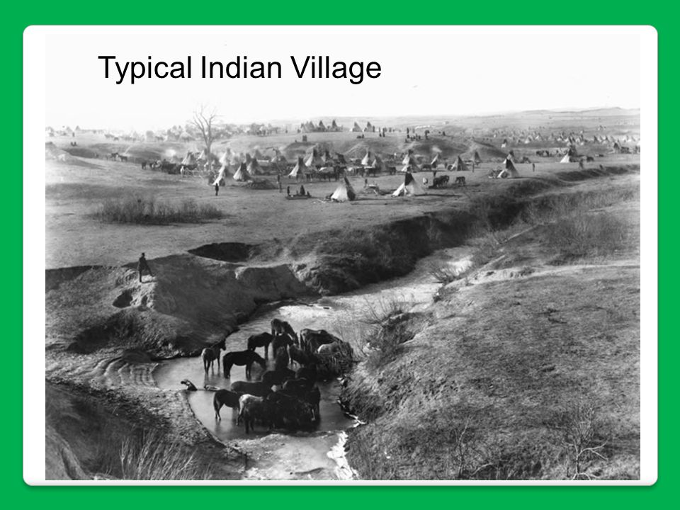 Typical Indian Village