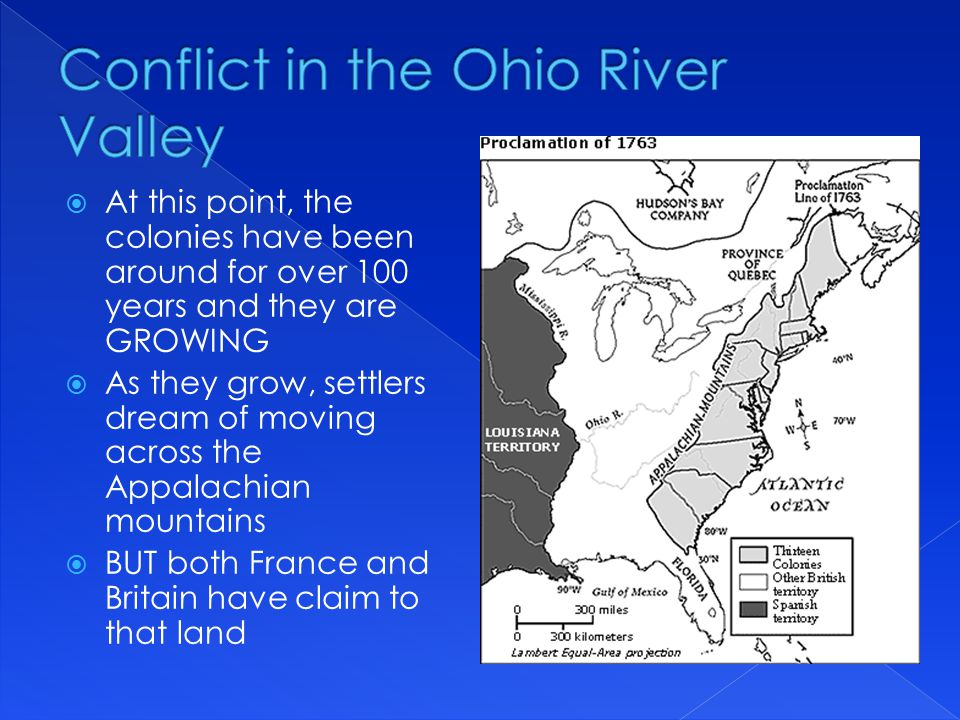 Conflict in the Ohio River Valley