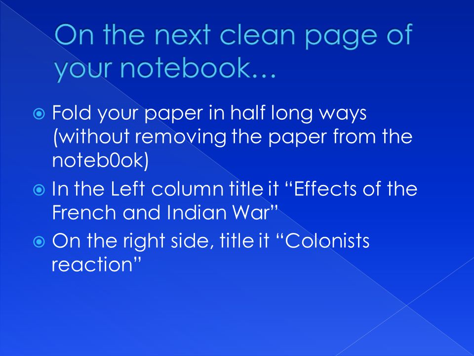 On the next clean page of your notebook…