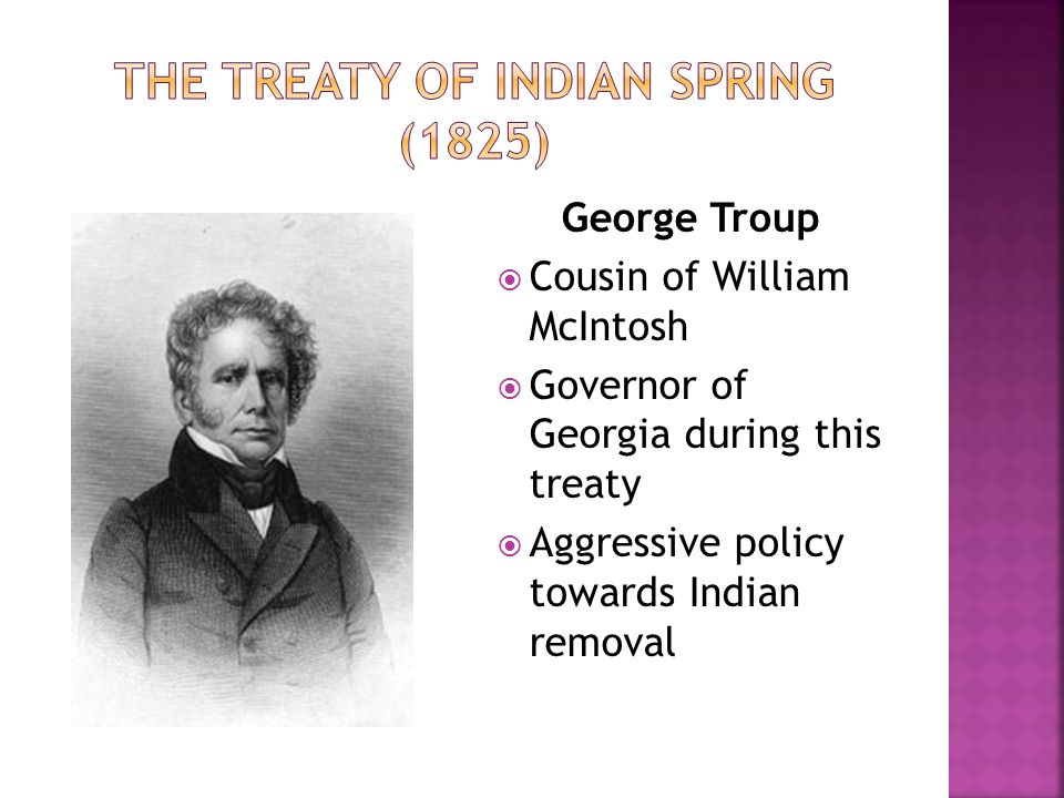 The Treaty of Indian spring (1825)