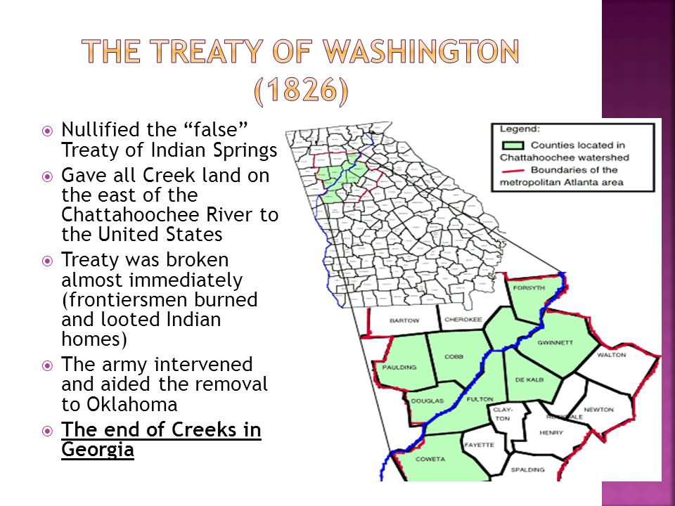 The Treaty of Washington (1826)