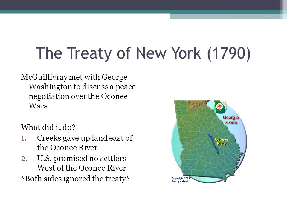 The Treaty of New York (1790)