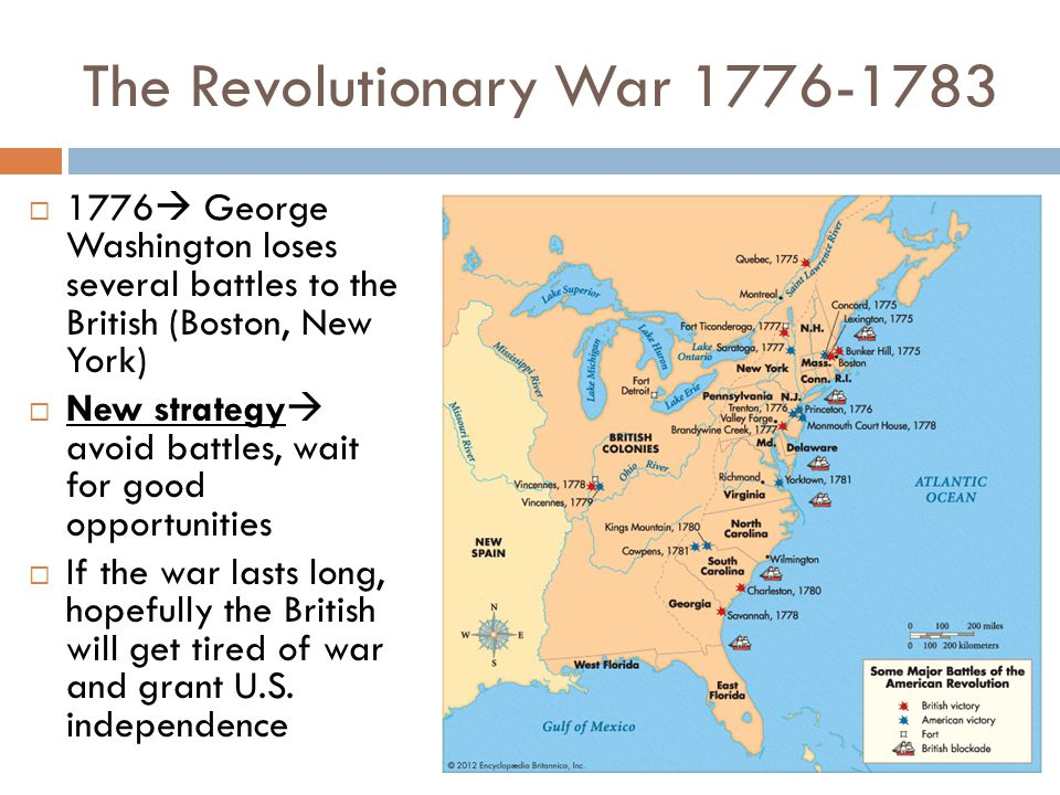 The Revolutionary War 1776-1783