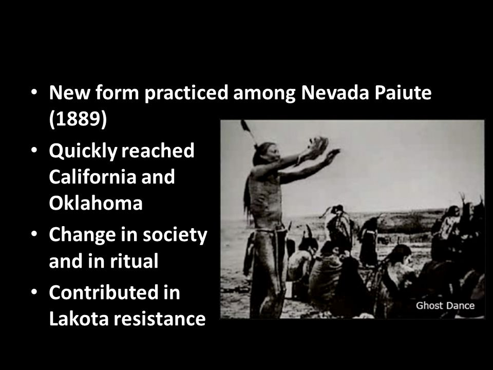New form practiced among Nevada Paiute (1889)