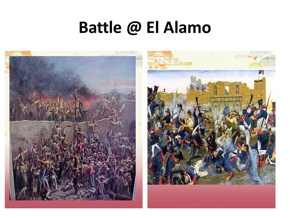 Battle @ El Alamo