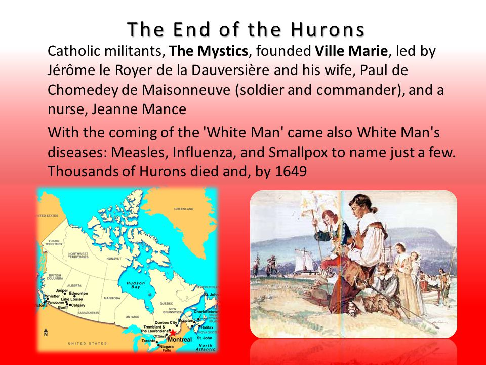 The End of the Hurons