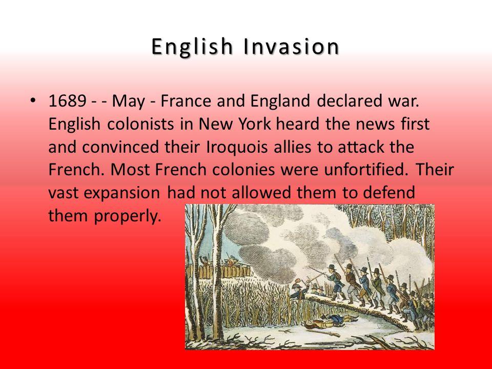 English Invasion