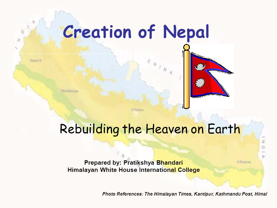 Rebuilding the Heaven on Earth