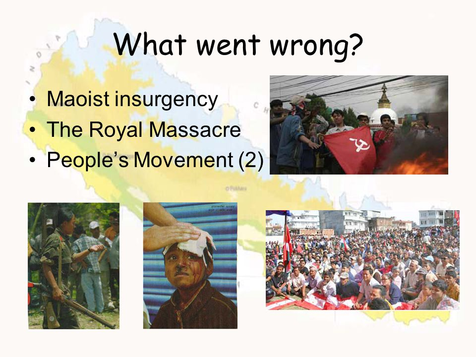 What went wrong Maoist insurgency The Royal Massacre