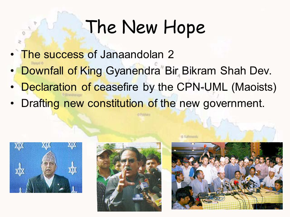 The New Hope The success of Janaandolan 2