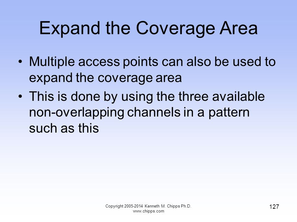 Expand the Coverage Area