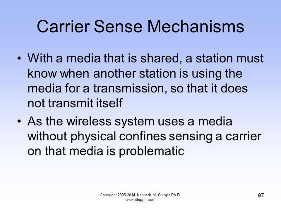 Carrier Sense Mechanisms