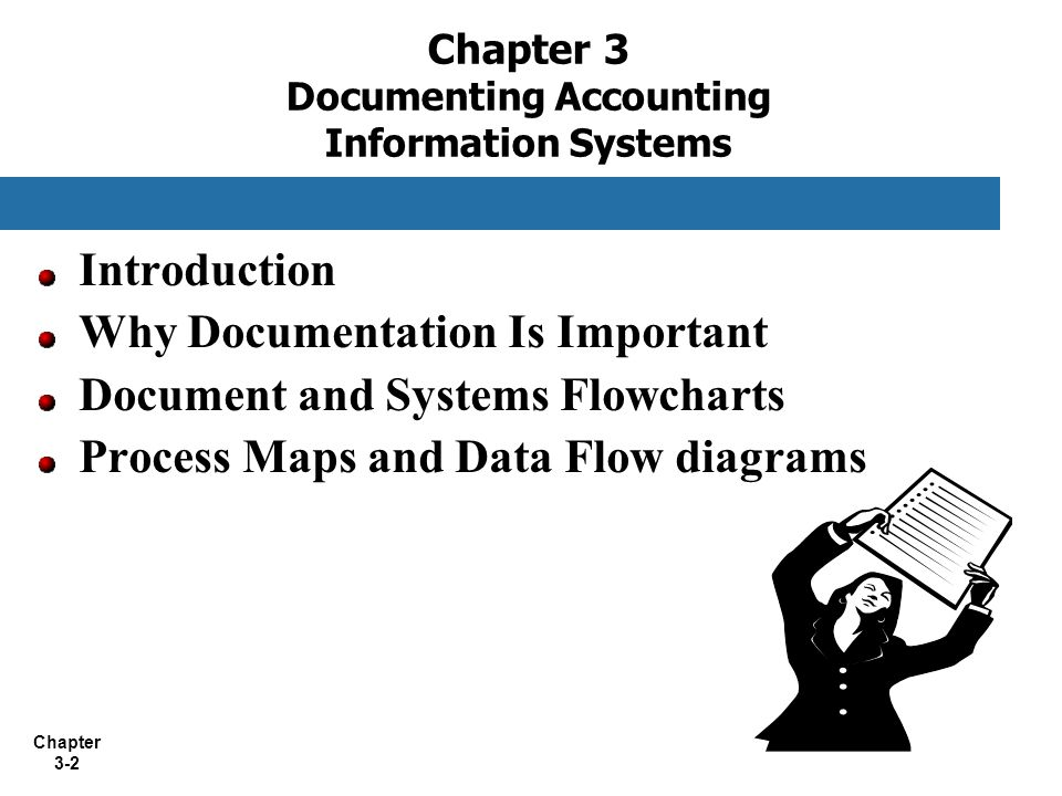 Chapter 3 Documenting Accounting Information Systems