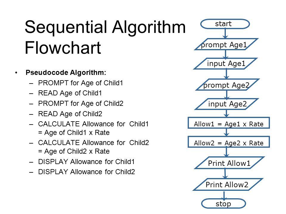 Sequential Algorithm Flowchart
