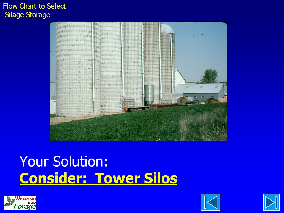 Your Solution: Consider: Tower Silos