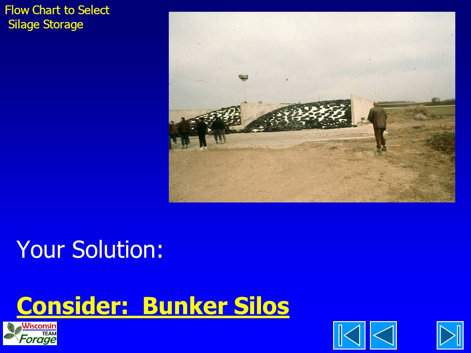 Your Solution: Consider: Bunker Silos