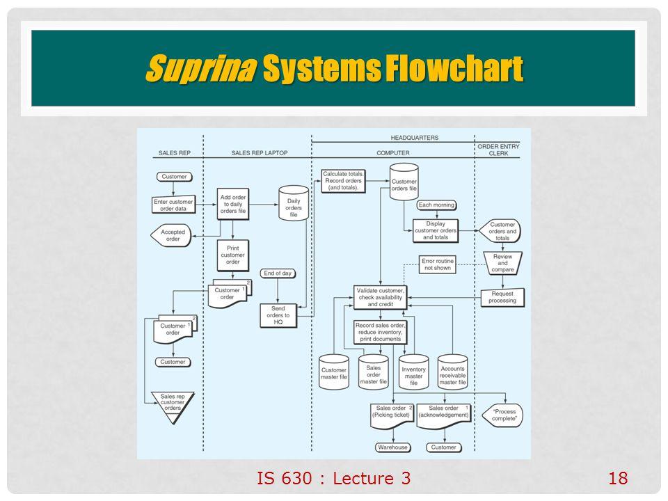 Suprina Systems Flowchart