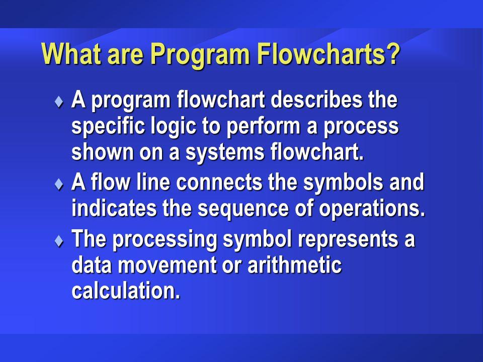 What are Program Flowcharts