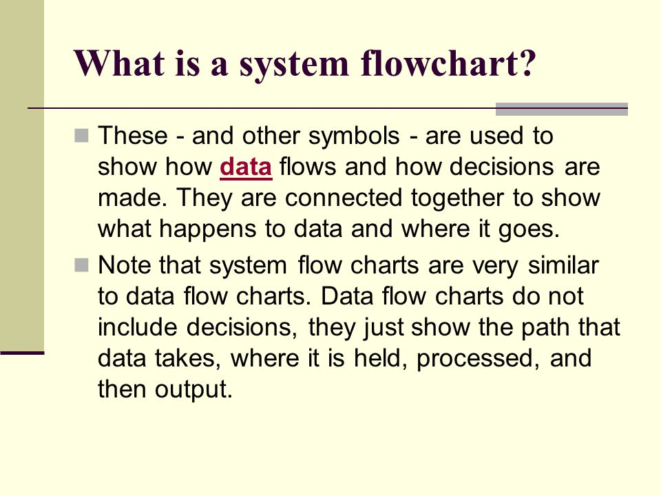 What Is Flowchart - Create A Flowchart