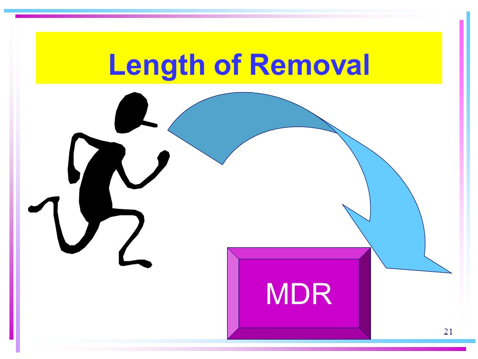 Length of Removal MDR