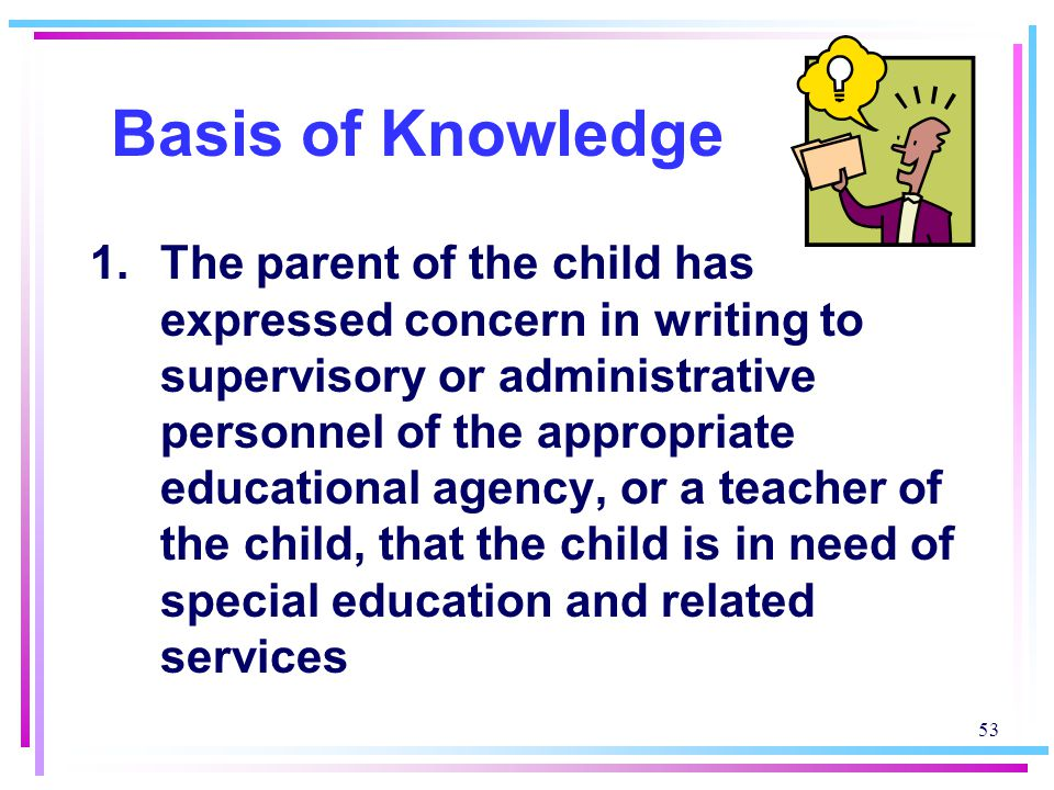 Basis of Knowledge