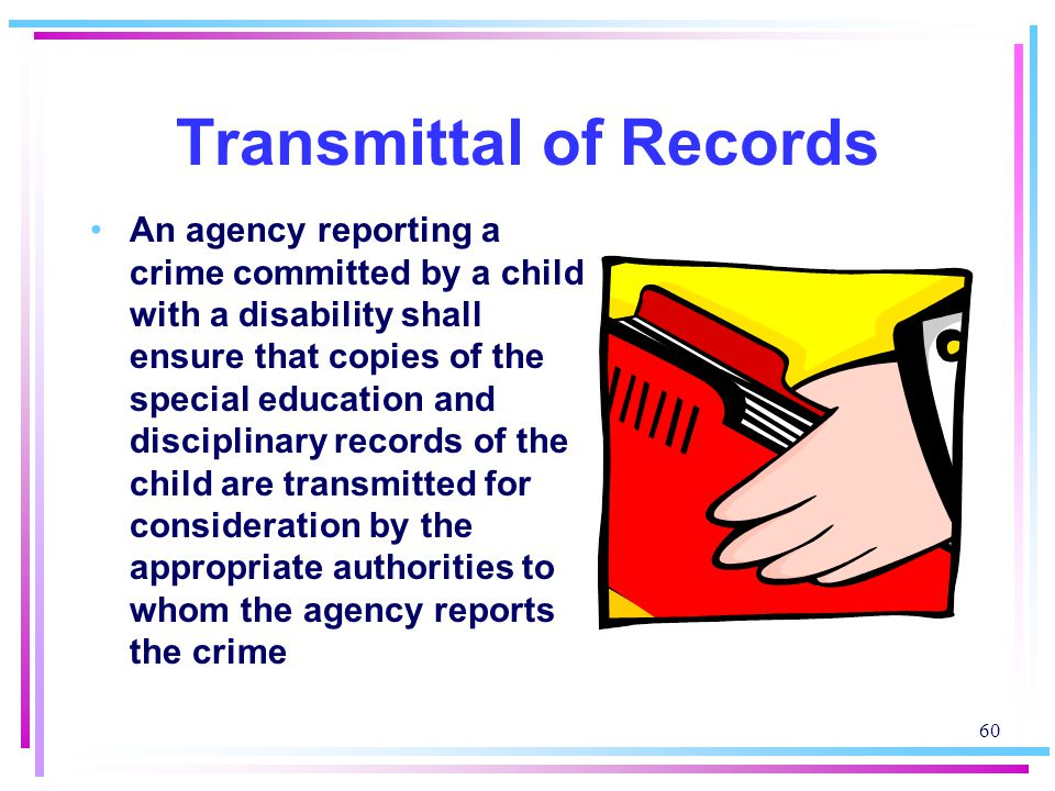 Transmittal of Records