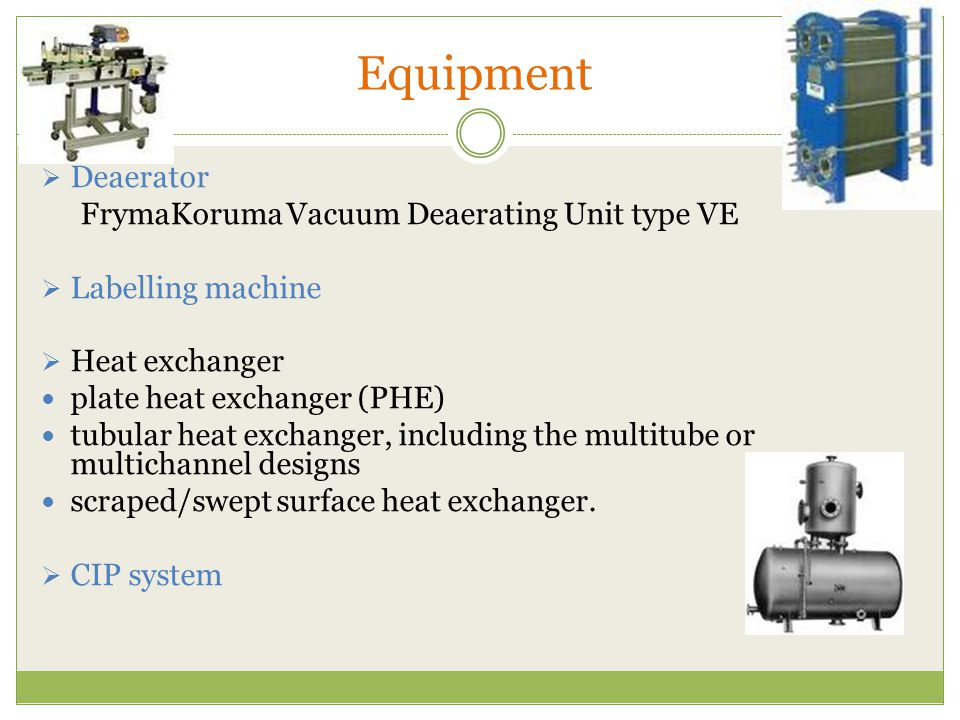 Equipment Deaerator FrymaKoruma Vacuum Deaerating Unit type VE