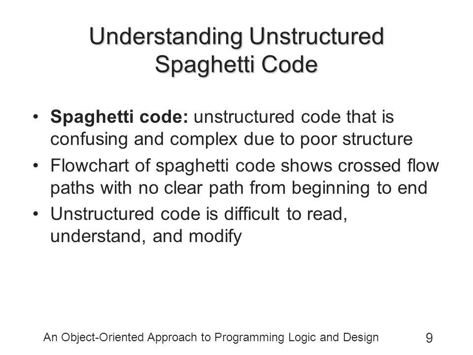 Understanding Unstructured Spaghetti Code