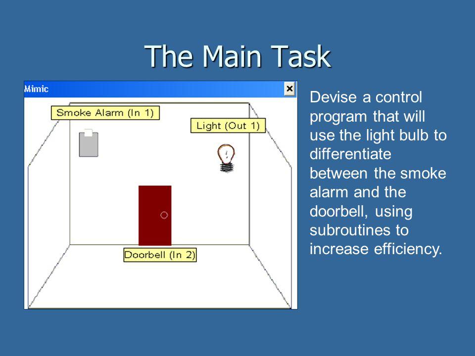 The Main Task