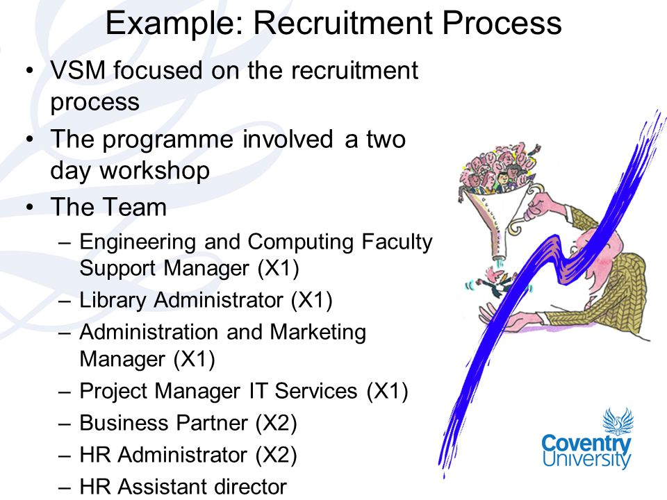 Example: Recruitment Process