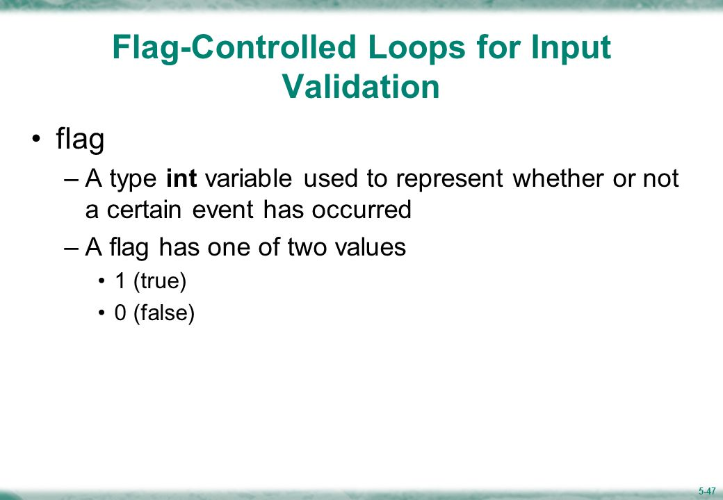 Example 5.10 (Figure 5.14) Function get_int returns an integer value that is in the range specified by its two arguments.