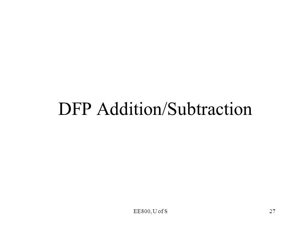 DFP Addition/Subtraction