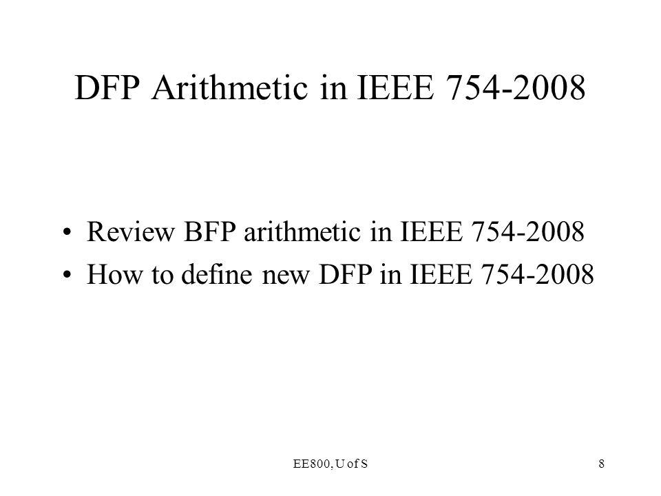 DFP Arithmetic in IEEE 754-2008