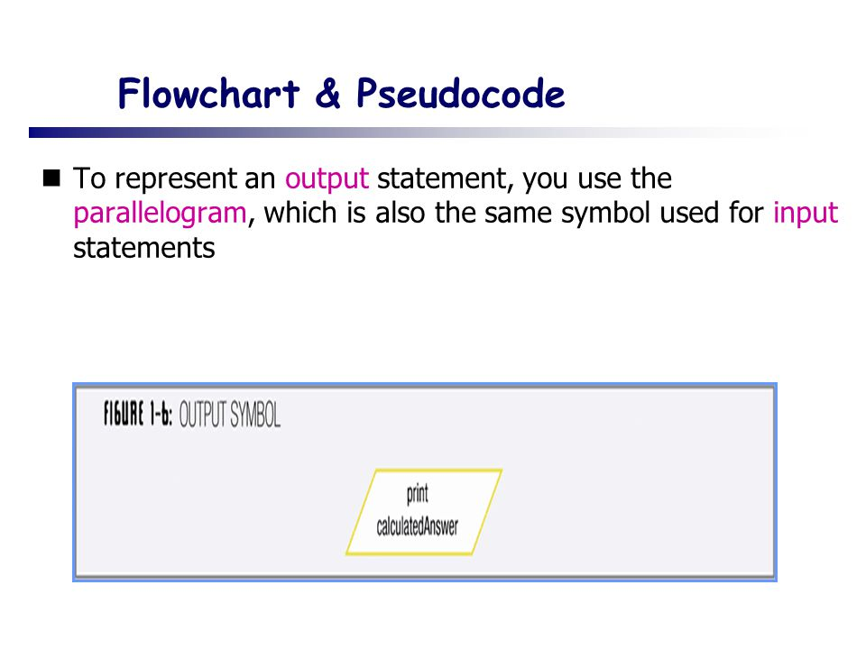 Flowchart & Pseudocode