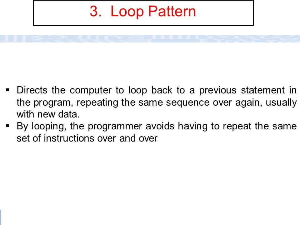 3. Loop Pattern