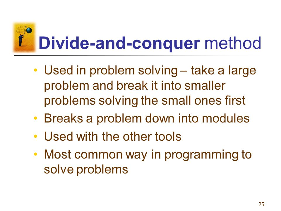 Divide-and-conquer method
