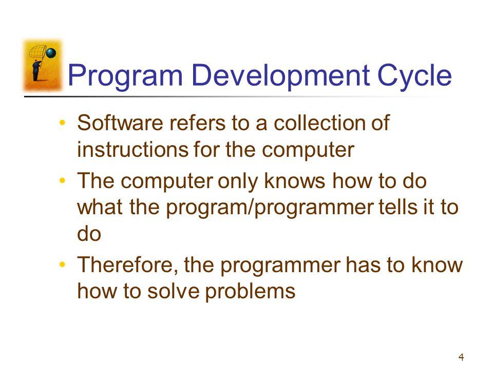 Program Development Cycle